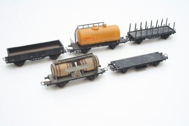 Electrotren interessante Sammlung Güterwagen in H0