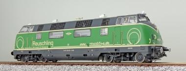 ESU 31082 Diesellok BR 220 Brohltalbahn Reuschling grün Ep. VI Sound+Rauch DC/AC