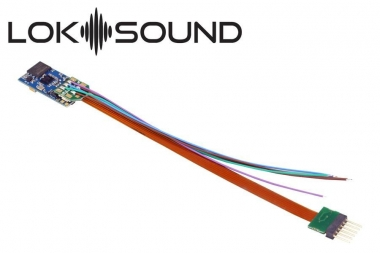 "ESU 58816 Loksound 5 micro DCC/MM/SX/M4 ""Leerdecoder"", 6-pin NEM651 Fabrikneu"
