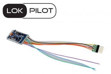 ESU 59616 Lokpilot V5.0 Multiprotokoll DCC/MM/SX/M4 6-pin NEM 651 MFX Fabrikneu
