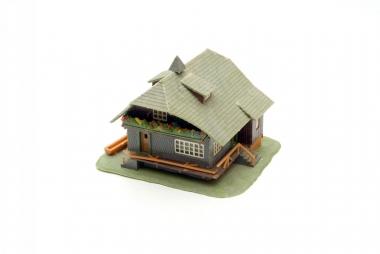 Faller 283 Schwarzwaldhaus in H0 mit Beleuchtung