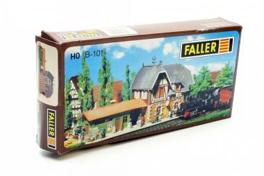 Faller 101 Bahnhof Burgsdorf in H0 in Originalverpackung