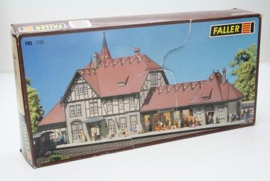 Faller 116 Bahnhof Schwarzburg in H0 Bausatz