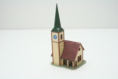 Faller 130240 Dorfkirche in H0 -gebaut-