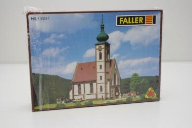 Faller 130241 Dorfkirche mit 2 Kirchturmspitzen in H0 Bausatz Fabrikneu