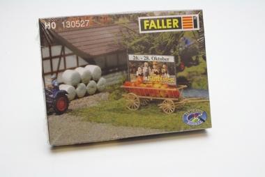 Faller 130527 Wagen mit Werbetafel in H0 Bausatz Fabrikneu