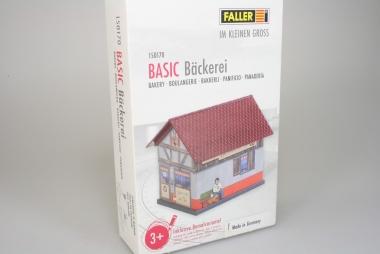 Faller 150170 Basic Bäckerei in H0 inkl. 1 Bemalvariante Neu