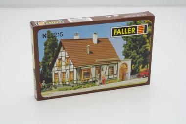 Faller 2215 Fachwerkhaus mit Garage in N Bausatz Fabrikneu