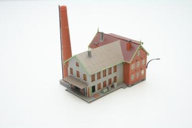 Faller 293081 Altes Farbrikgebäude in H0/TT -gebaut-