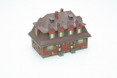 Faller 369 Siedlungshaus Gartenstadt in H0 -gebaut-