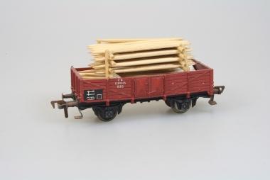 Fleischmann 5203 offener Güterwagen O 20 der DB in H0 mit Ladung