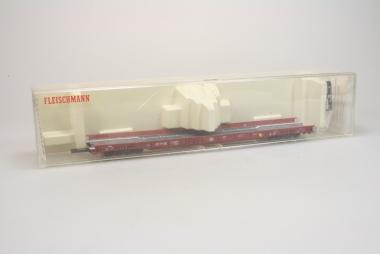 Fleischmann 5271 rollende Landstraße Saadk der DB in H0 in Originalverpackung