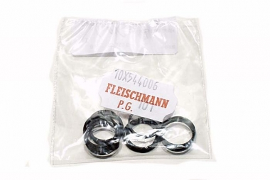 Fleischmann 544006 10x Haftreifen H0 Ersatzteil Fabrikneu