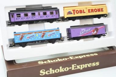 Fleischmann 5804 Schoko-Express 4-teilig H0 mit AC Achsen in Originalverpackung