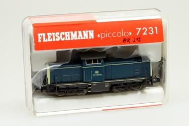 Fleischmann 7231 Diesellok Br. 212 der DB Spur N in Originalverpackung