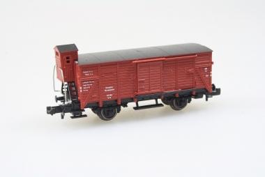 Fleischmann 8355 gedeckter Güterwagen DB in N in Originalverpackung