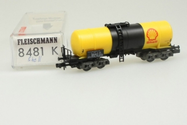 Fleischmann 8481 Kesselwagen SHELL der DB in Originalverpackung
