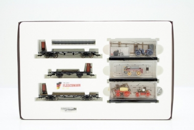 Fleischmann 171904 Güterwagenset für Zug 1904 Wechselstrom NEUWARE