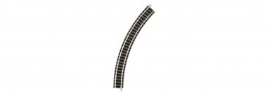 Fleischmann piccolo 9120 R1 45° gebogenes Gleis unbespielt