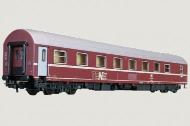 Heris 11016 TEN Schlafwagen T2s WLABsm 166 75-70 401-3 der DB Neuware