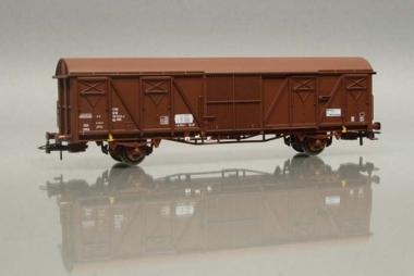 Heris 11528 Gedeckter Güterwagen Gbs263 155 0 123-6 der DR NEUWARE