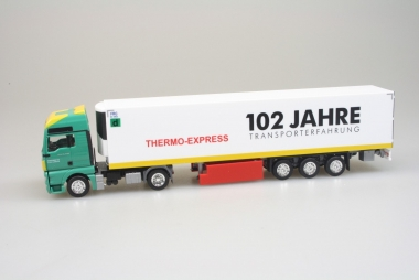 Herpa MAN TGX XXL Euro 6c Facelift Kühlauflieger Gartner KG Thermo-Express 1:87