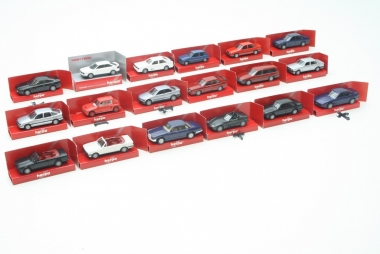 Herpa interssante Sammlung Pkw's H0 1:87 BMW, Jaguar, Opel, Audi in OVP