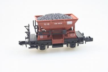 Ibertren 461 Schüttgutwagen mit Hohleladung der Renfe in N in Originalverpackung