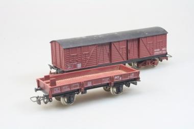 Jouef 2x Güterwagen in H0 in Originalzustand