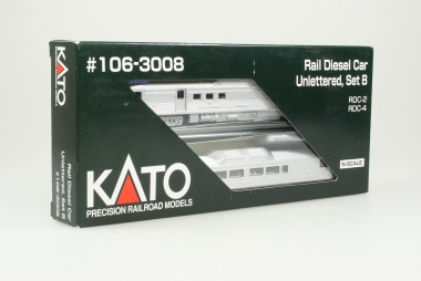 Kato 106-3008 US Rail Diesel car unlettered RDC-2 RDC 4 New Haven Spur N NEUWARE
