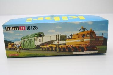 Kibri 10128 Schwerlastponton mit Trafotransport H0 / 1:87 in Originalverpackung