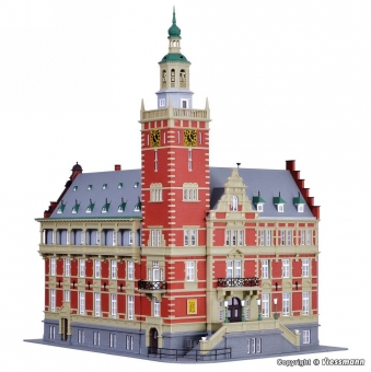 Kibri 38381 Rathaus Leer in H0 Bausatz
