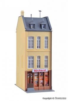 Kibri 38393 Stadthaus Eiscafé/Bäckerei in Düsseldorf in H0 Bausatz