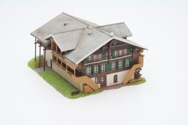 + 14,2 x 9,7 x 10 cm KIBRI 38033 H0 Haus Gletsch NEUHEIT 2019