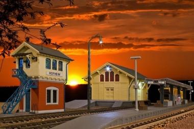 Kibri 38994 Set Rund um den Bahnhof in H0 Bausatz