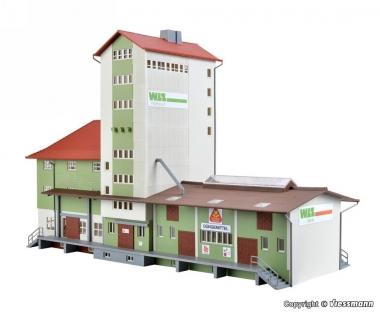 Kibri 39408 WLZ Lagerhaus in H0 Bausatz