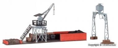 Kibri 39434 Großbekohlungs- und Besandungsanlage in H0 Bausatz Fabrikneu