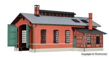 Kibri 39436 Lokschuppen Eschbronn, einständig in H0 Bausatz Fabrikneu