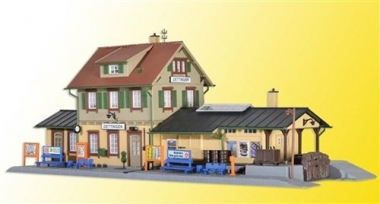 Kibri 39507 Bahnhof Dettingen in H0 Bausatz