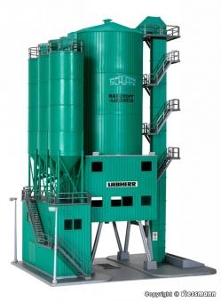 Kibri 39930 Betonwerk SchwarzBau in H0 Bausatz Fabrikneu