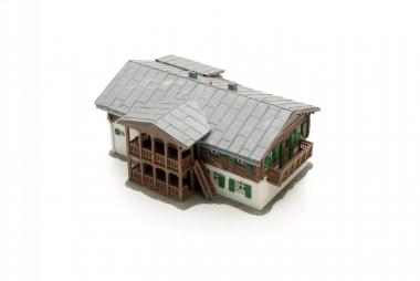 Kibri 8005 Haus Alpenhof in H0 mit Beleuchtung