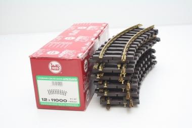 LGB 11000 12x gebogenes Gleis R1 Spur G in Originalverpackung