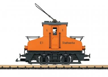 LGB 20301 Elektrolokomotive E1 Stadtwerke Spur G Fabrikneu