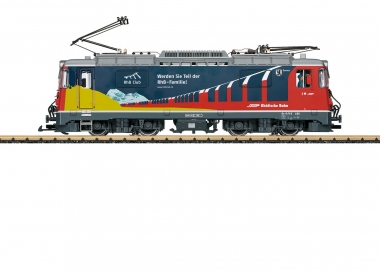 "LGB 28445 Elektrolokomotive Ge 4/4 II ""RhB-Club"" der RhB Spur G Fabrikneu"