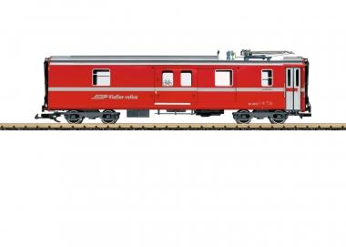 LGB 30692 Gepäckwagen mit Stromabnehmer RhB Spur G Fabrikneu