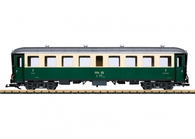 LGB 32524 Personenwagen der RhB 2. Klasse Spur G Fabrikneu