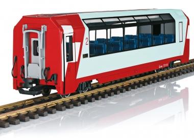 LGB 33671 Panoramawagen der RhB 2. Klasse Spur G Fabrikneu