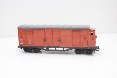 LGB 4063 gedeckter Güterwagen mit Bremerhaus in Spur G in Originalverpackung