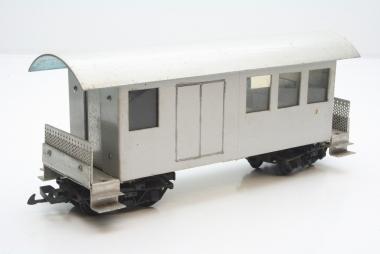LGB Personenwagen mit Gepäckabteil Spur G Eigenbau Unikat mit Inneneinrichtung