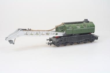 Liliput Kranwagen Schwerlastkran Güterwagenin H0